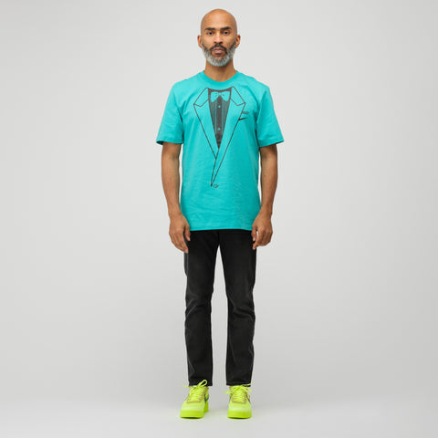 Nike Off-White A6 Tuxedo T-Shirt in Light Retro Blue - Notre