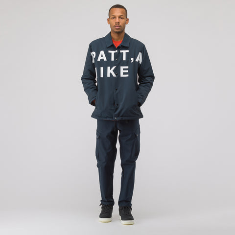 Nike x Patta Cargo Pants in Dark Obsidian - Notre