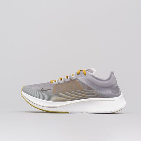 Nike Zoom Fly SP in Black/Peat Moss - Notre