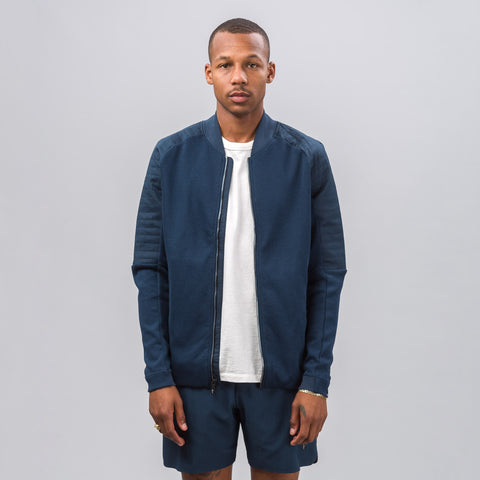 Nike Nikecourt x RF Full Zip Jumper in Armor Navy - Notre