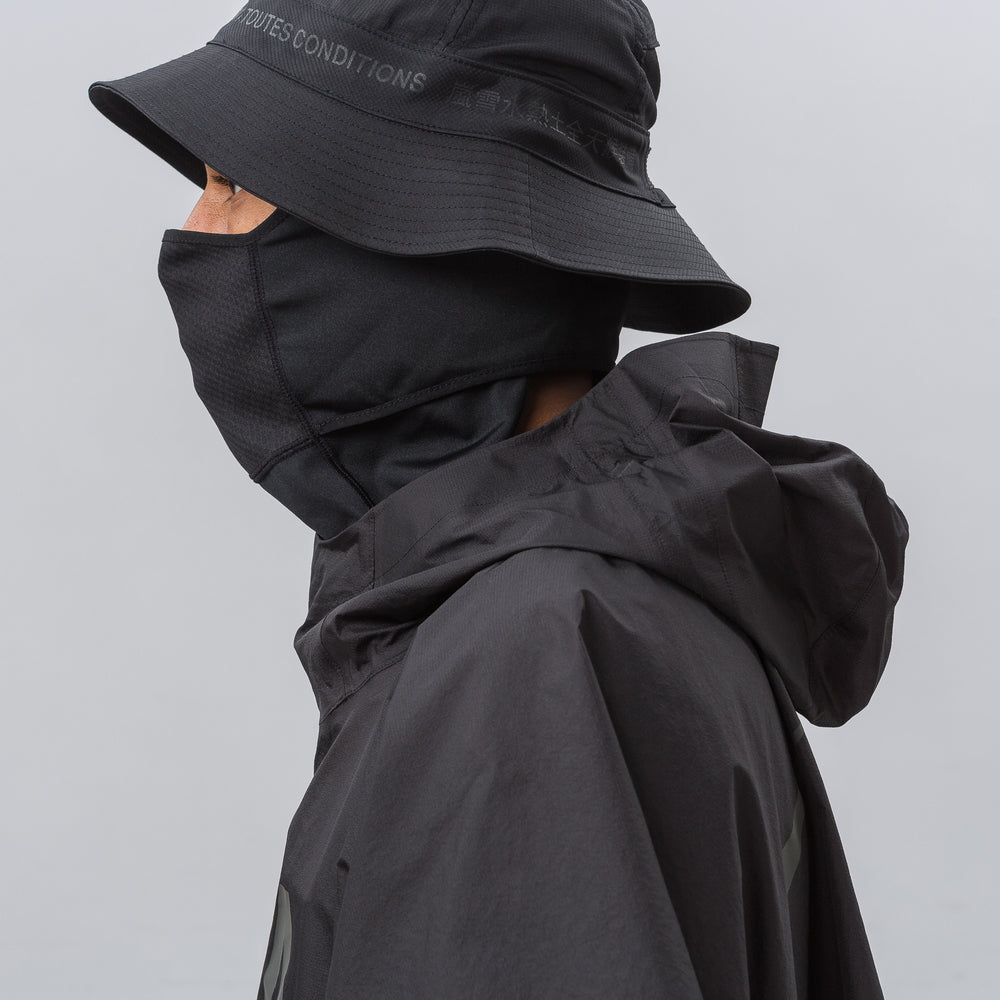 Nike NikeLab 3L Packable ACG Poncho in Black - Notre