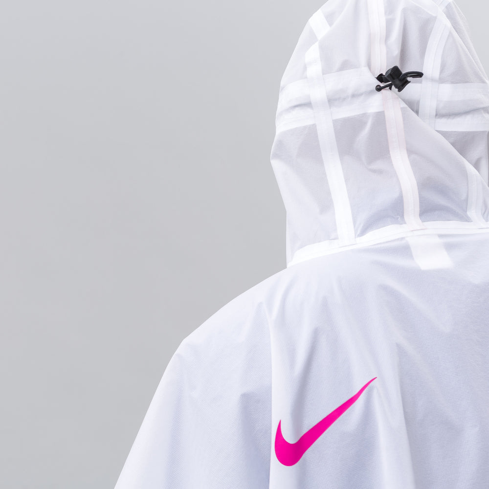 Nike NikeLab 3L Packable ACG Poncho in White - Notre