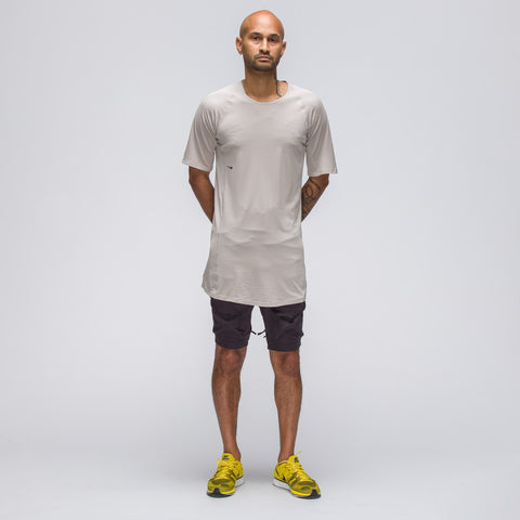 Nike NIkelab AAE Short Sleeve Top in Moon Particle/Black - Notre
