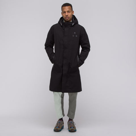 NikeLab ACG 3-in-1 System Coat in Black/Barely Green - Notre