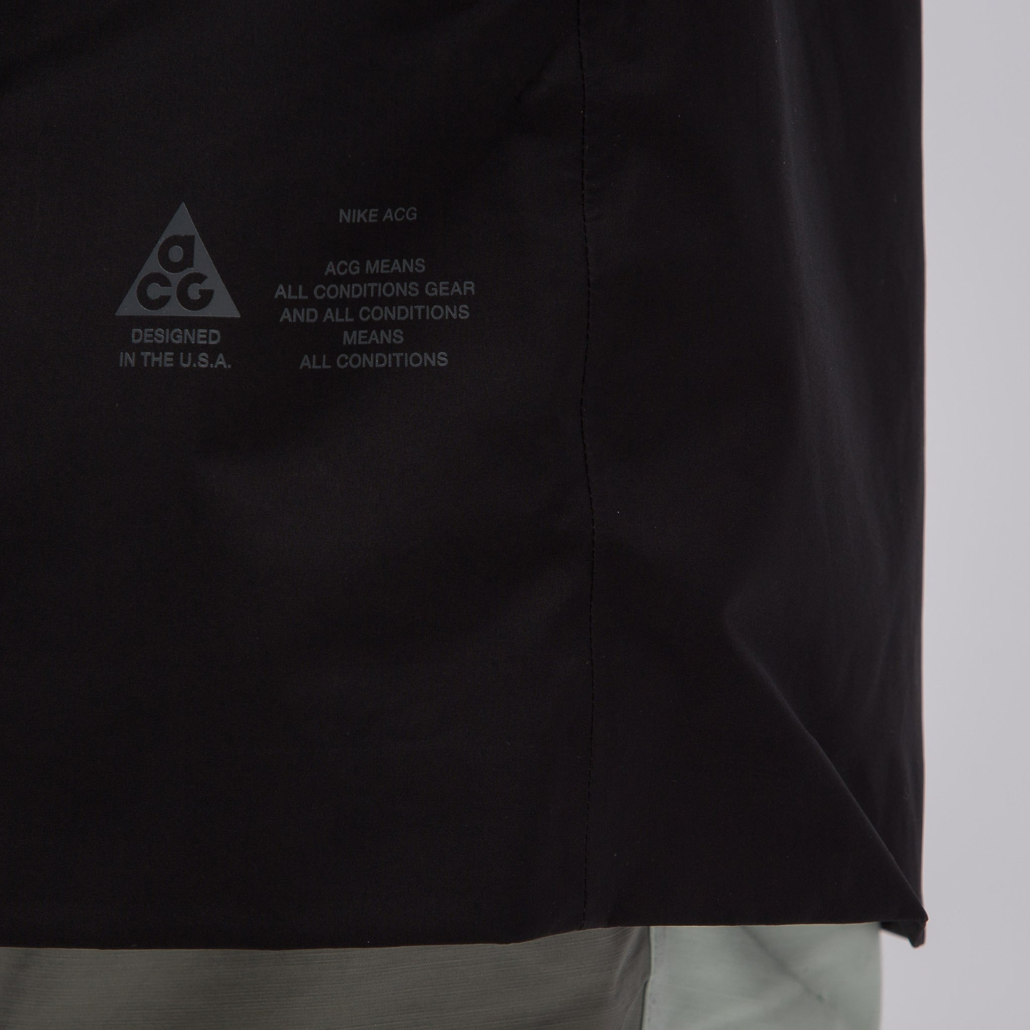 ACG 3-in-1 System Coat in Black/Barely Green