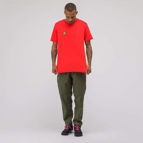 NikeLab ACG T-Shirt in Habanero Red - Notre