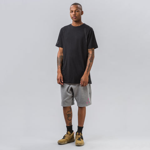 Nike NikeLab ACG Fleece Short in Carbon Heather/Black - Notre