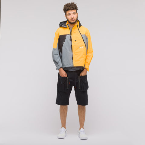NikeLab ACG 3 Layer Gore-Tex Jacket in Cool Grey/Laser Orange - Notre
