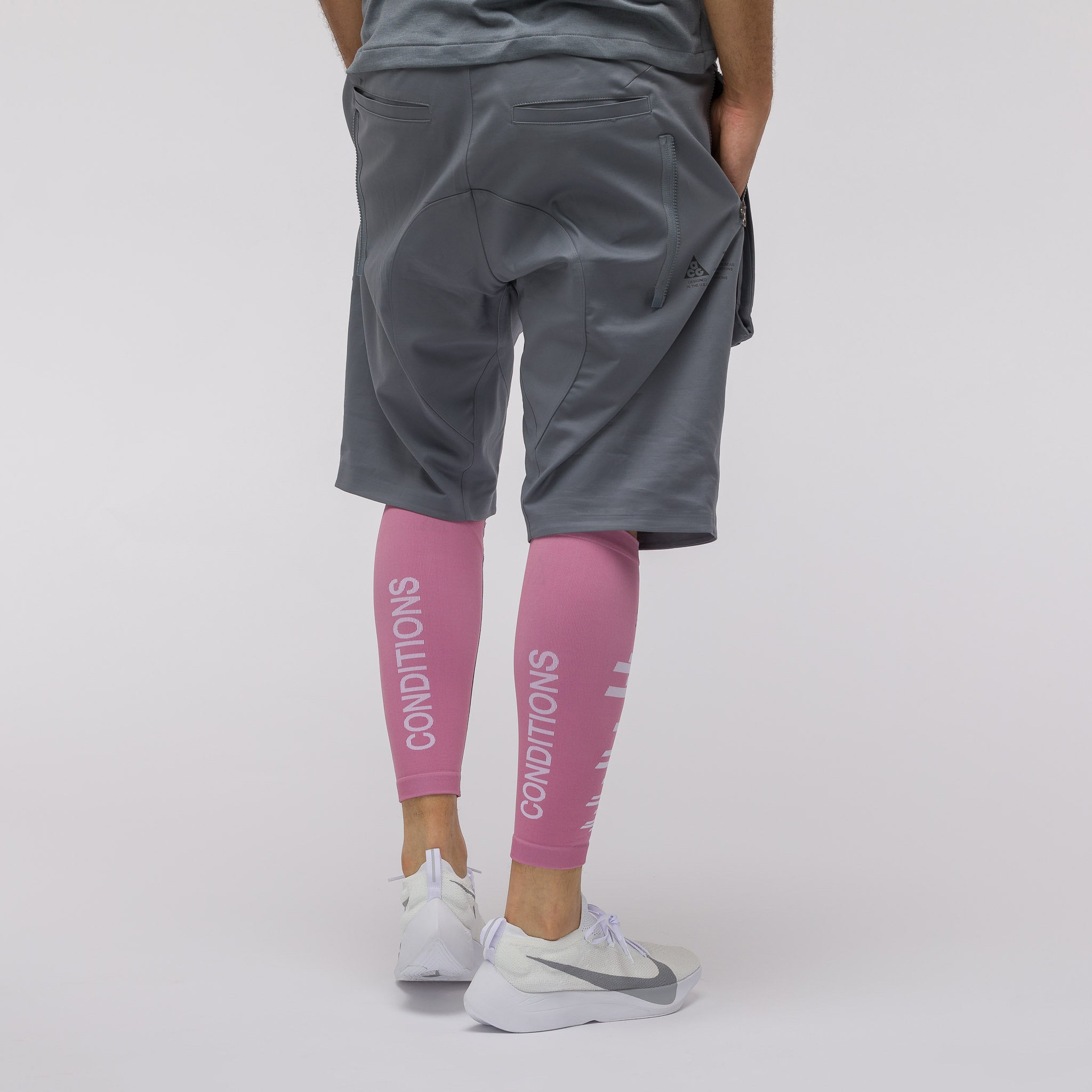ACG Compression Leg Sleeves in Elemental Pink