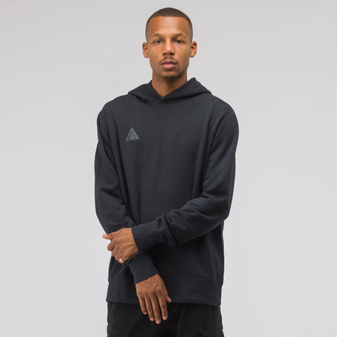 NikeLab ACG Pullover Hoodie in All Black - Notre