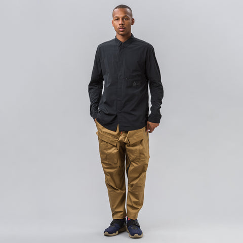 Nike Nikelab ACG Shirt Jacket in Black - Notre