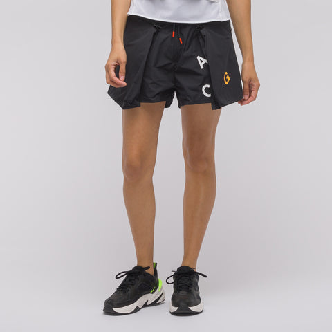 NikeLab Women's ACG Short in Black/Anthracite - Notre