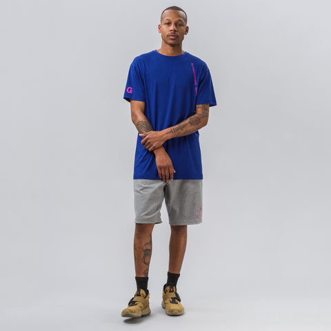 Nike NikeLab ACG Short-Sleeve Top in Deep Royal Blue - Notre