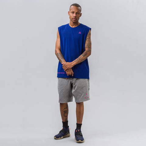 Nike NikeLab ACG Tank in Deep Royal Blue - Notre