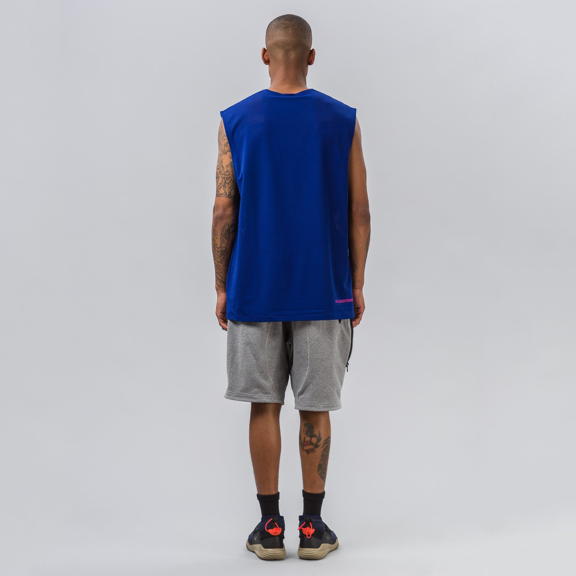 NikeLab ACG Tank in Deep Royal Blue
