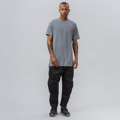 Nike Nikelab ACG Short-Sleeve Top in Grey - Notre
