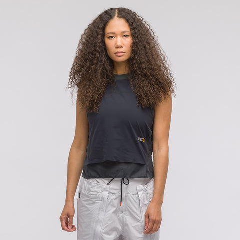 NikeLab Women's ACG Top in Black - Notre