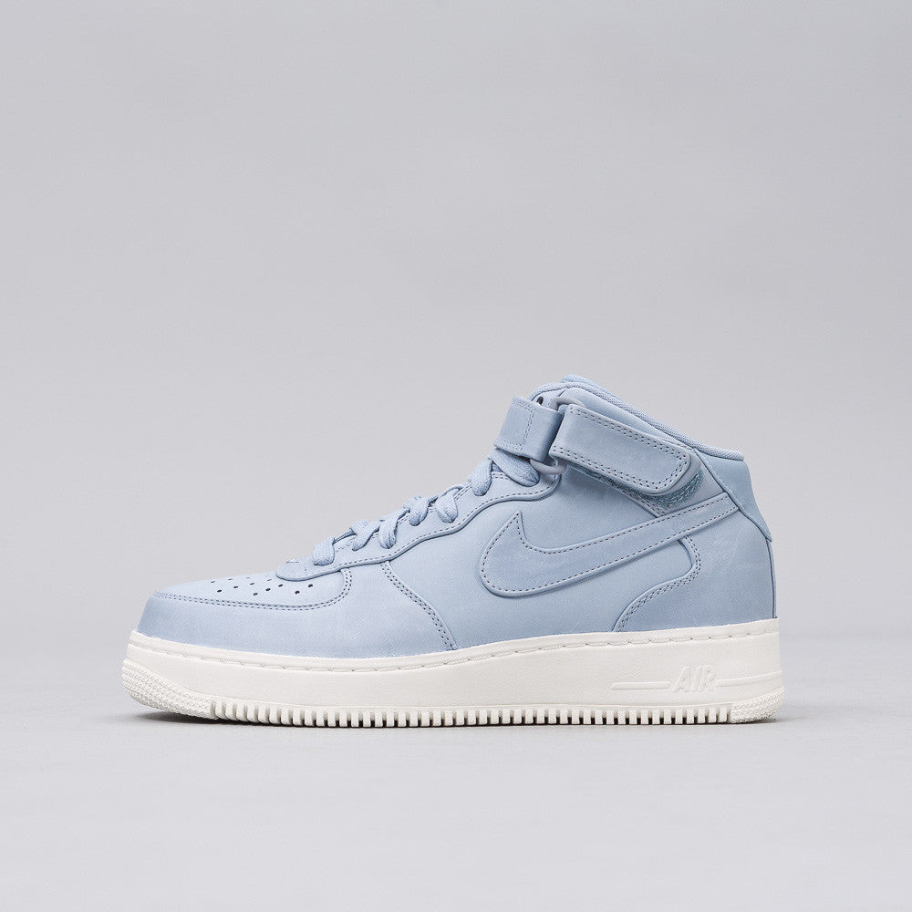 Nike - Nikelab Air Force 1 Mid in Blue - Notre - 1