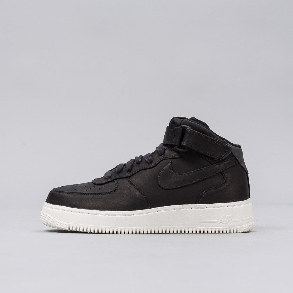 Nike - Nikelab Air Force 1 Mid in Black - Notre - 1