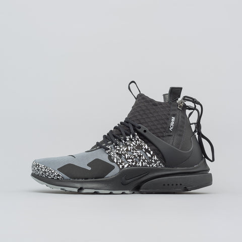 NikeLab x Acronym Air Presto Mid in Cool Grey - Notre