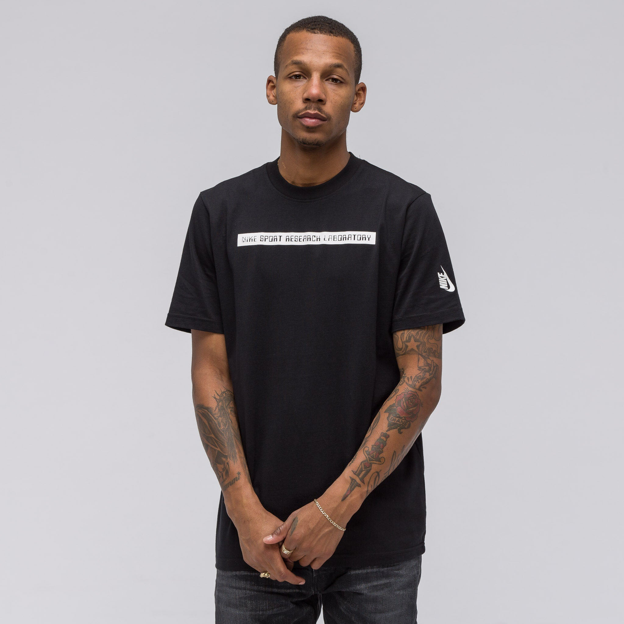 NikeLab Essentials NSRL T-Shirt in Black