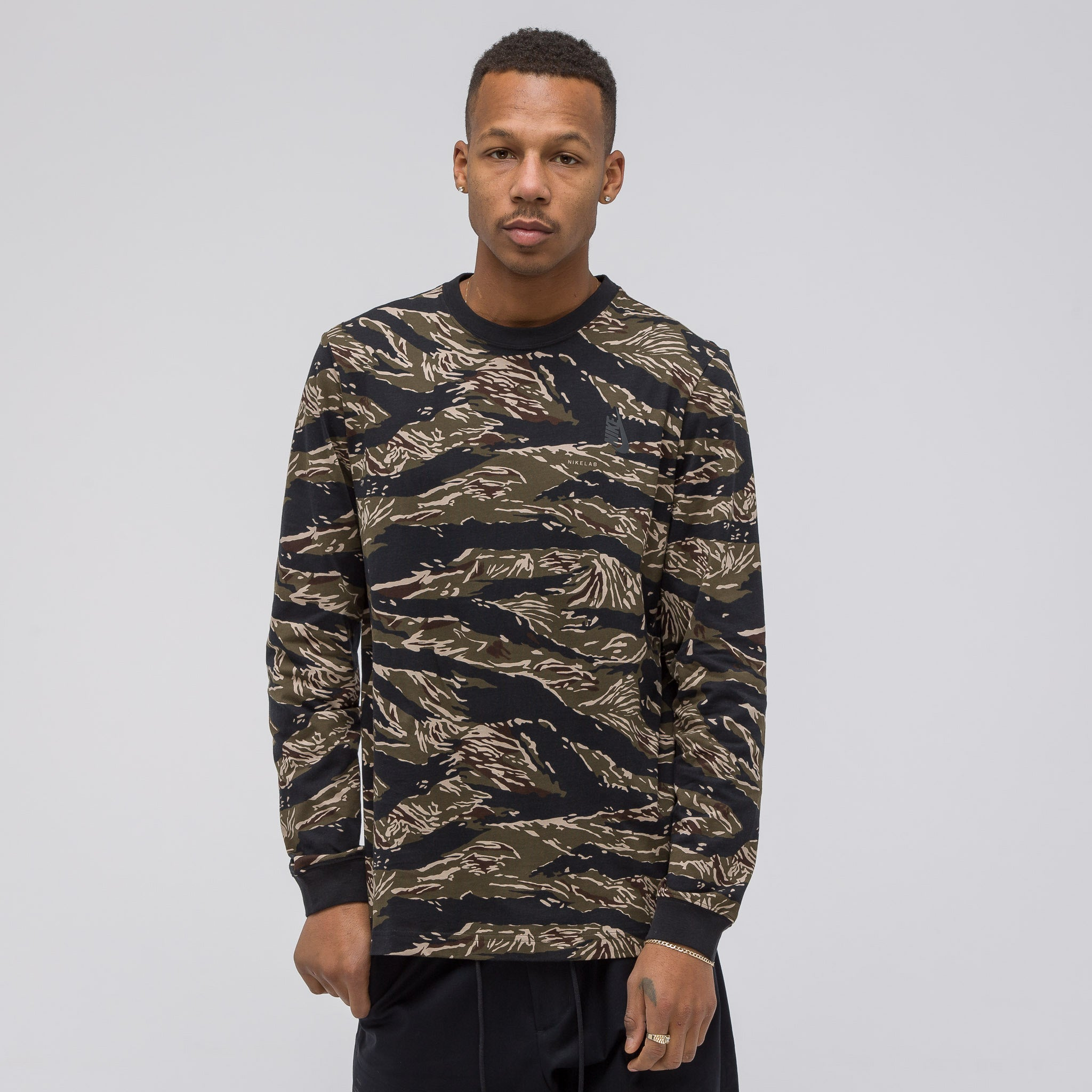NikeLab Essentials Tiger Camo Long Sleeve