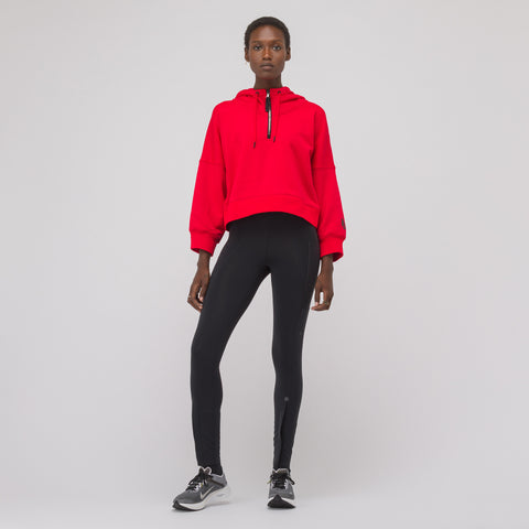 NikeLab Women's Hooded Long Sleeve Top in Red - Notre