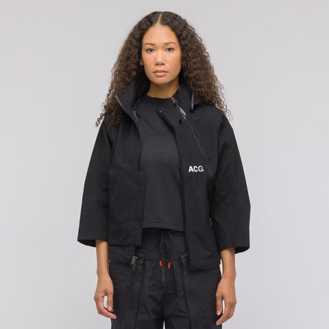 NikeLab Women's ACG Gore-Tex Jacket in Black - Notre