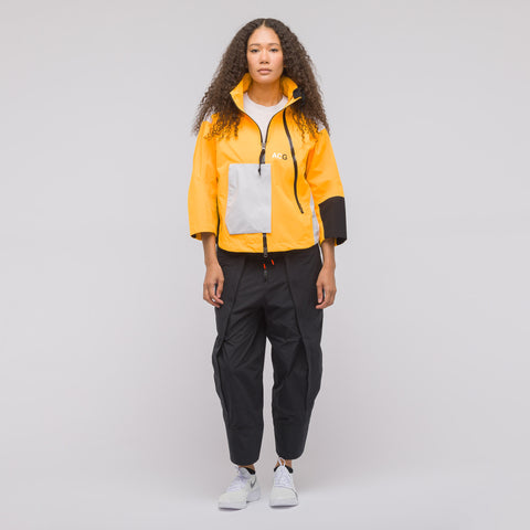 NikeLab Women's ACG Gore-Tex Jacket in Orange/Grey - Notre