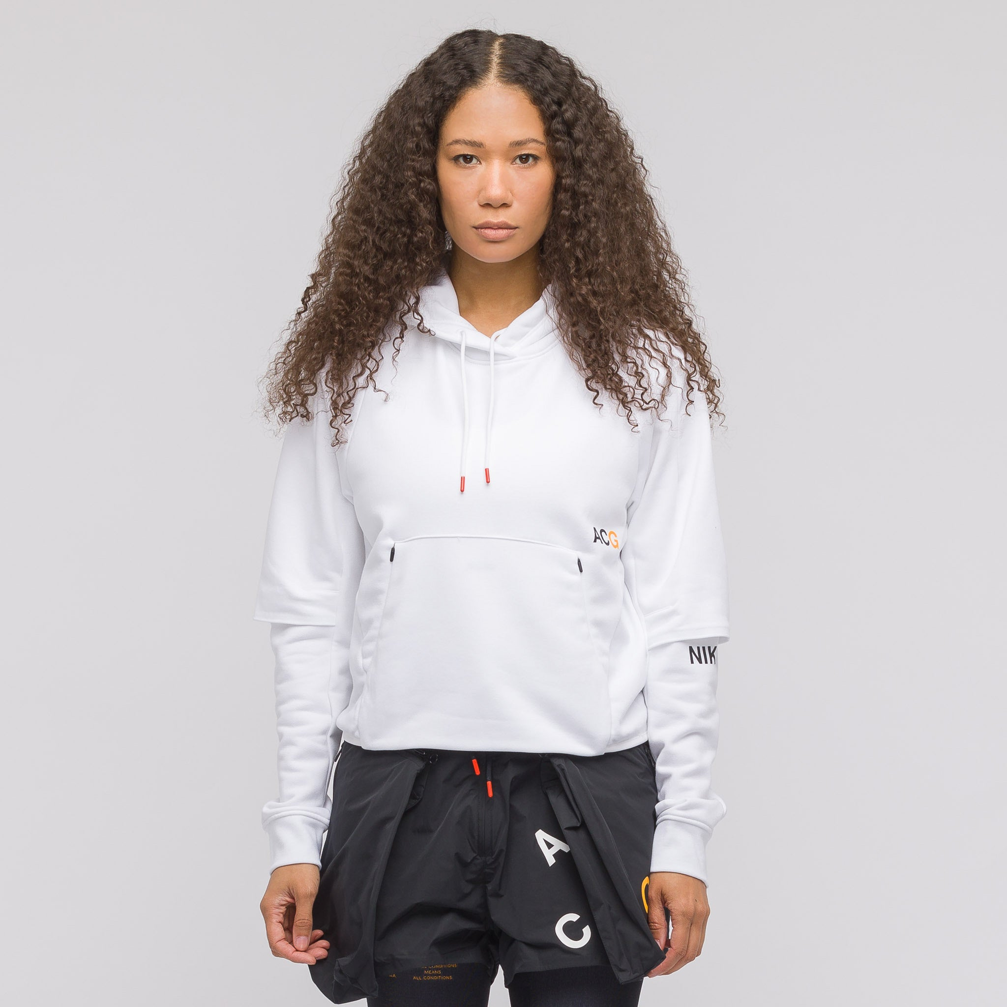 Women's ACG Pullover Hoodie in White