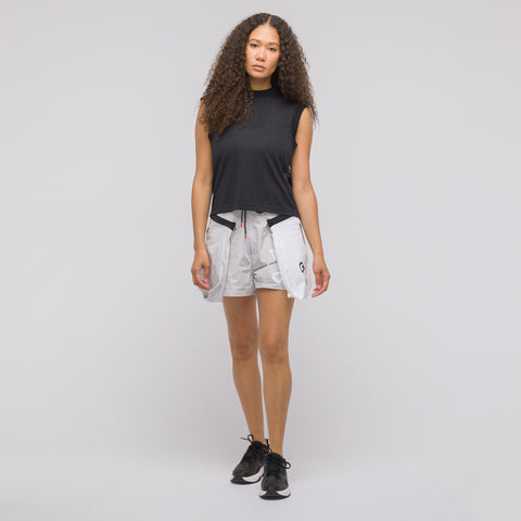 NikeLab Women's ACG Short in Grey/Black - Notre