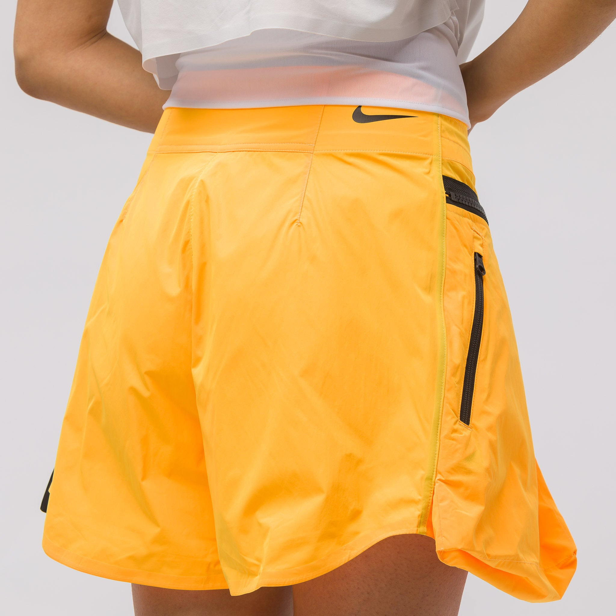 Women's ACG Short in Orange/Grey