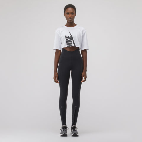 NikeLab Women's Half Shirt in White - Notre