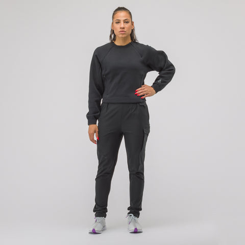 NikeLab Women's XX Project Fleece Crew in Black - Notre