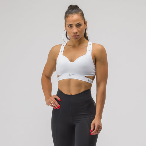 NikeLab Women's XX Project High Support Sports Bra in White - Notre