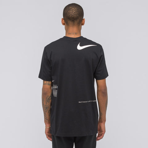 NikeLab x Matthew Williams Beryllium T-Shirt in Black/White - Notre