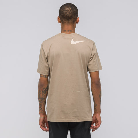 NikeLab x Matthew Williams Beryllium T-Shirt in Khaki - Notre