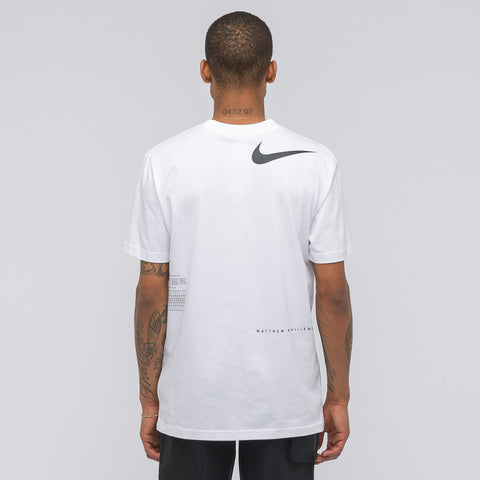 NikeLab x Matthew Williams Beryllium T-Shirt in White - Notre