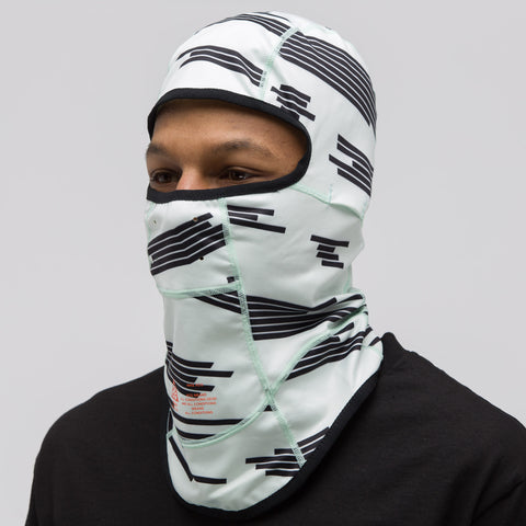 NikeLab ACG Balaclava in Barely Green/Black - Notre