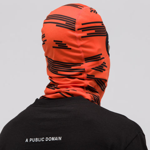 NikeLab ACG Balaclava in Team Orange/Black - Notre