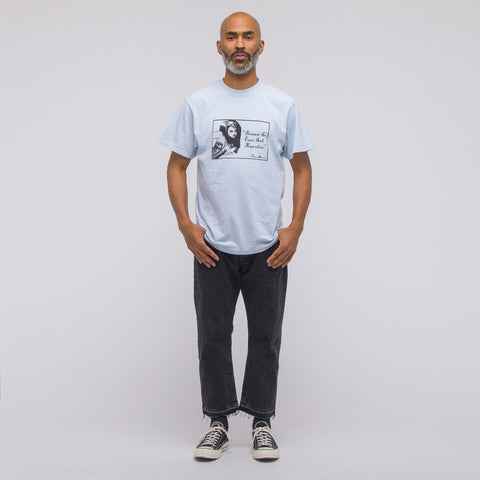 Noon Goons Beware the Eye T-Shirt in Baby Blue - Notre