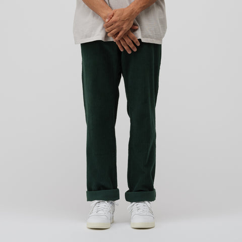 Noon Goons Catalina Cord Pant in Forest Green - Notre