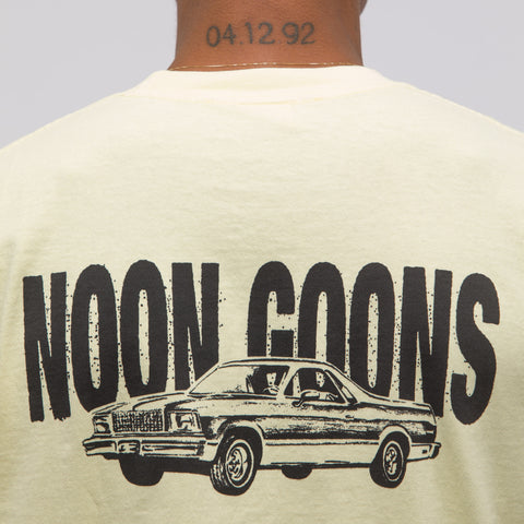 Noon Goons El Camino T-Shirt in Yellow - Notre