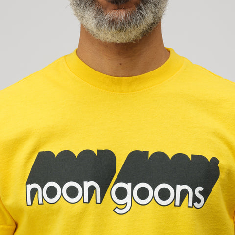 Noon Goons Noon Goons In Depth T-Shirt in Gold - Notre
