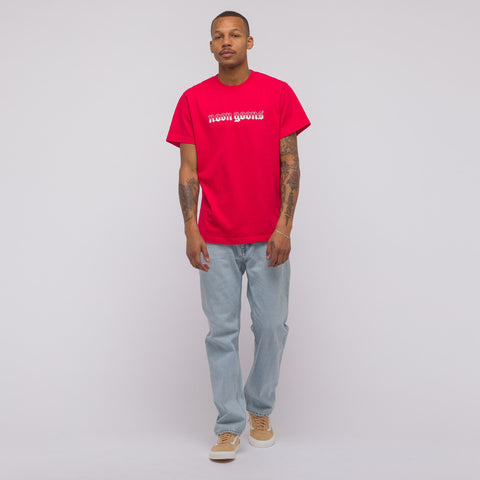 Noon Goons Old English T-Shirt in Red - Notre