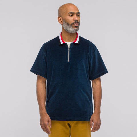 Noon Goons Valet Polo in Navy - Notre