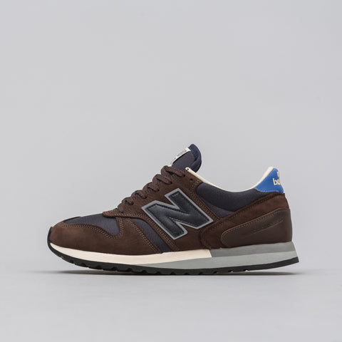 New Balance Norse Projects x New Balance M770NP in Navy/Brown - Notre