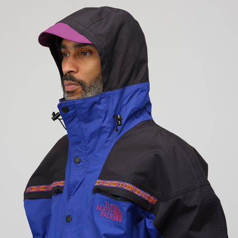 The North Face Black Label 92 Retro Rage Rain Jacket in Aztec Blue - Notre