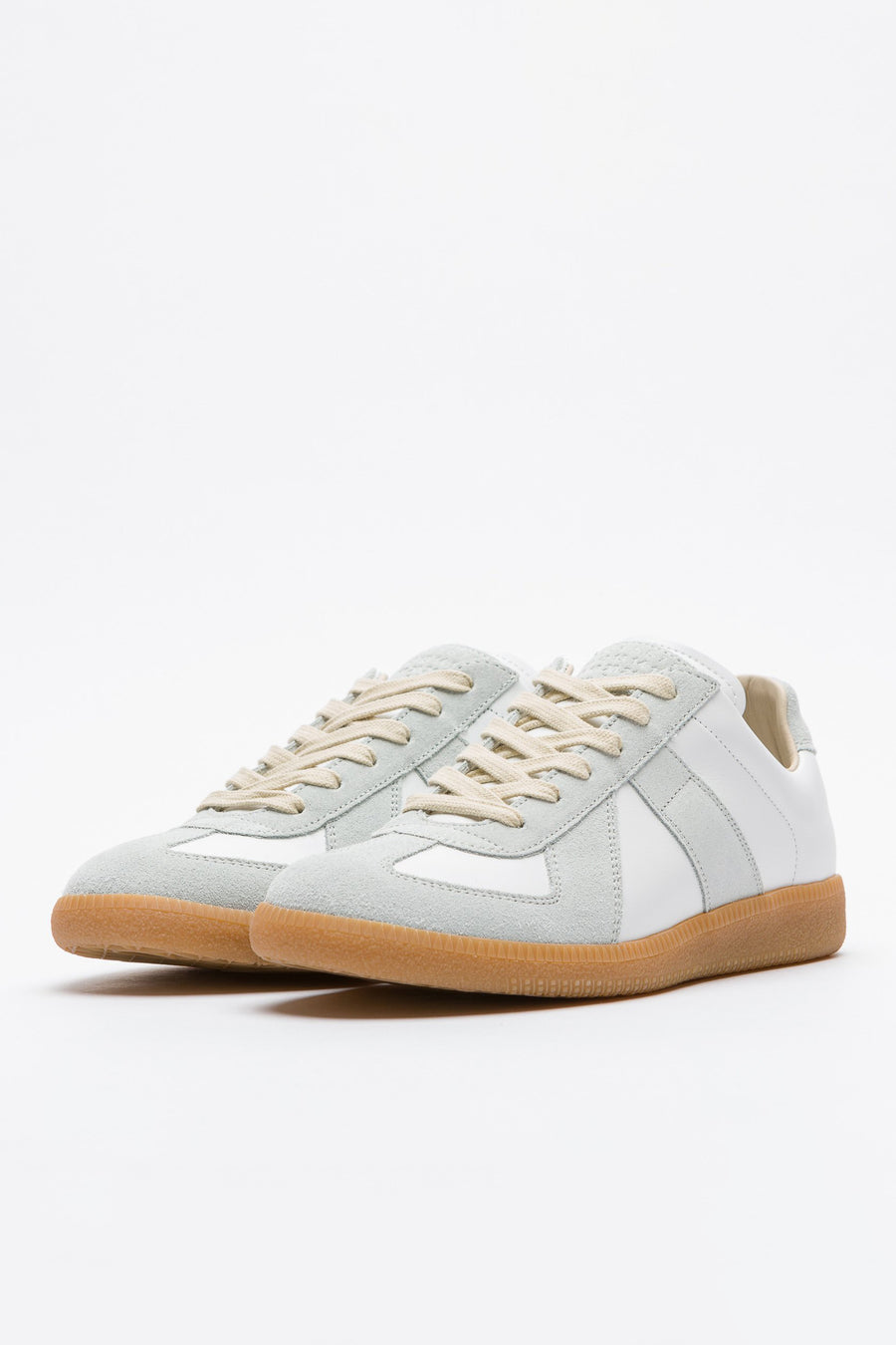 Maison Margiela Calfskin Replica 101 in White/Grey - Notre