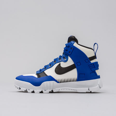 x Undercover SFB Jungle Dunk in White/Blk-Game Royal